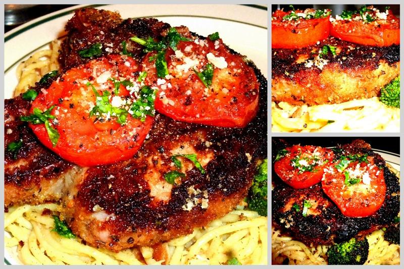 Sicilian Pork Chops