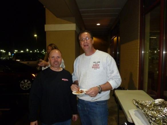 Al Bowman (left). Bill Grenko (right)