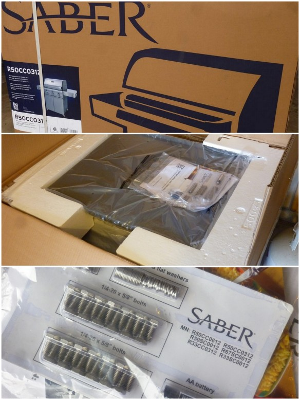 Saber Grill in package